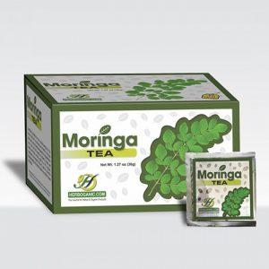 Moringa Tea- Pure Oleifera, 20 Tea Bags-0