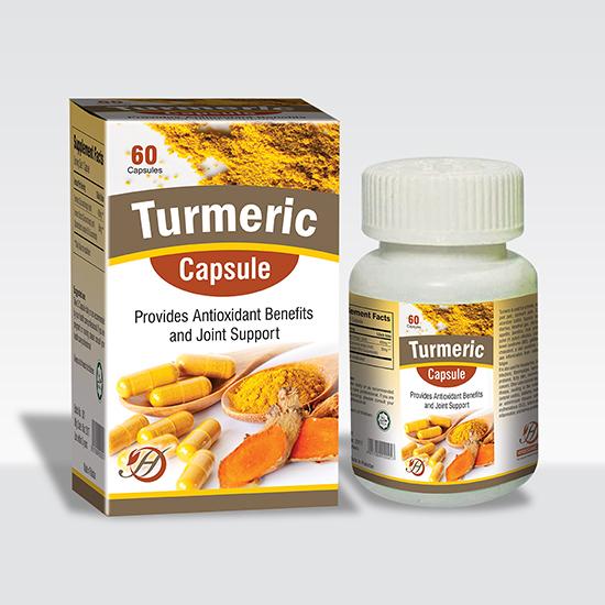 Turmeric Capsules (60 Capsules)-0