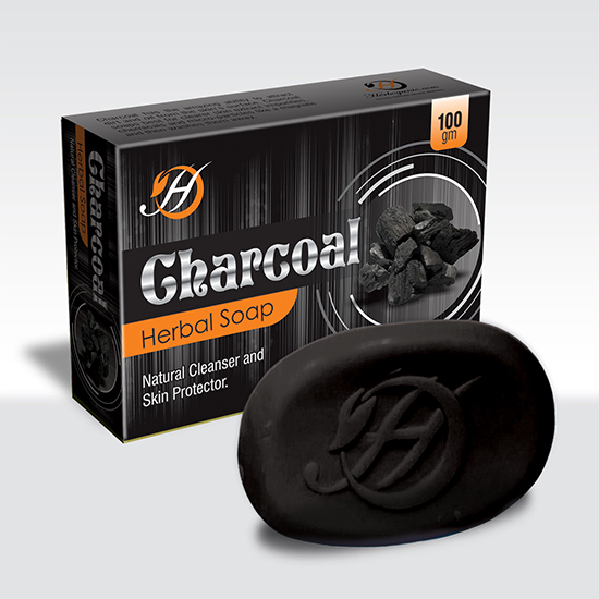 Charcoal Herbal Soap-0