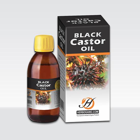 Black Castor Oil 2 oz Bottle-0