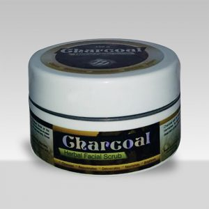 Charcoal Herbal Facial Scrub-0
