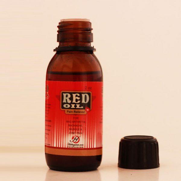 Red oil Bottle