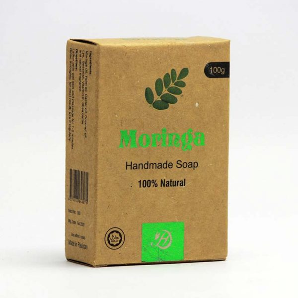 Moringa Handmade Soap for Skin