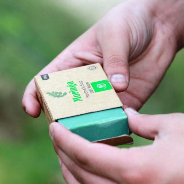 100% Pure Moringa Handmade Soap