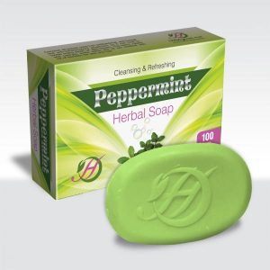 Peppermint Herbal Soap