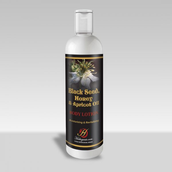 Black Seed, Honey & Apricot oil Body Lotion